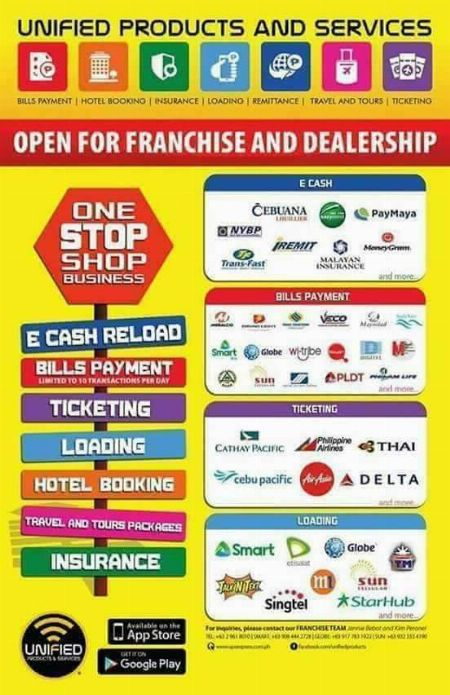 unified products and services mandaluyong Remittance grace diez
